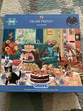 Gibsons Feline Frenzy 1000pc Puzzle
