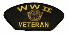 WWII WORLD WAR TWO 2 VETERAN W/ RUPTURED DUCK PATCH HONORABLE DISCHARGE