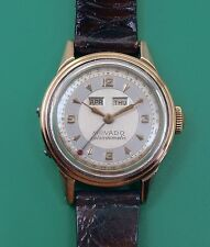 Vintage 1940's Triple Date MOVADO Calendoamatic Bumper Automatic Men's Watch