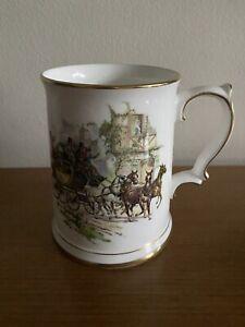 Royal Grafton Stein Tankard Mug - 1 Pint - Horse & Carriage - Made in England