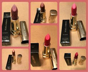 Dolce & Gabbana The Lipstick Classic Cream Full Size 0.12 oz New In Box