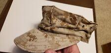 8 Point Navy Cover Usn Hat Garrison Digital Desert Size Small Used