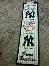 New York Yankees Heritage banner, wool blend, Winning Streak