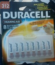 312 duracell batterie hearing aid- 384 batteries total
