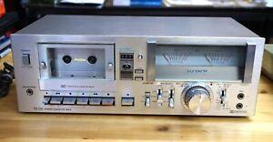 VINTAGE SONY TC-U5 STEREO CASSETTE TAPE DECK PLAYER RECORDER #700190 !!