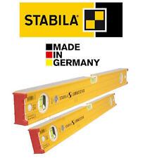 """STABILA 96-2 Heavy Duty 3 Vials 120cm/4'/48"""" & 60cm/24""""/2ft Beam Spirit Level"""