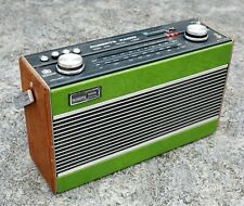 More details for roberts radio r800,  vhf-fm/mw/lw, green, excellent condition, 1984, collectable