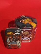 FORCE ATTAX Star Wars Movie Card Serie 3 TIN BOX & Mini Tin Sammeldose  NEU OVP