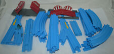 Lot of Vintage Tomy Thomas The Train Blue Track & Switches - 42 Pieces Total