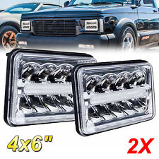 For Chevrolet S10 Monte Carlo Nova R10 Monza Led Drl Headlight Hi Lo Beam Fits 1996