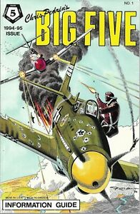 Chris Pedrin's BIG FIVE Information Guide 1994-95 #1 DC War - MINT 9.2