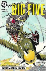 Chris Pedrin's BIG FIVE Information Guide 1994-95 #1 DC War - MINT 9.2