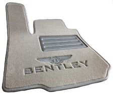 🇩🇪 FRONT Car Mats for ⭐️⭐️⭐️⭐️⭐️ ✅ BENTLEY 🏅CONTINENTAL 🏁FLYING SPUR W12 🏁✅