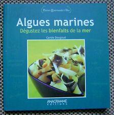 Livre Algues marines dégustez les bienfaits de la mer /Y10