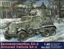 Unimodel 1/48 Soviet BA-6 Armoured Car # 502