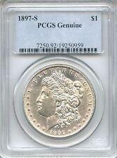 1897-S Morgan Silver Dollar PCGS Genuine ~ $1 (19250959)