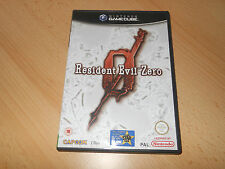 Resident Evil Zero 0 Nintendo GameCube MINT Sammler Pal Version