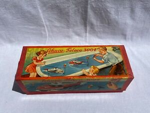 Schuco Teleco 3004 US Zone Schnellboot Boot Spielzeug Antik Vintage Retro Alt