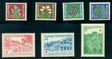 Belgium #B485-91 Complete set, og, Nh, Vf, Scott $52.15