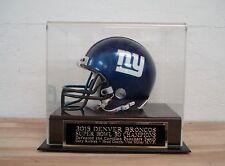 Display Case For Your 2015 Denver Broncos Super Bowl Fifty Football Mini Helmet