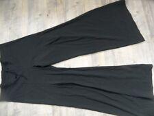 GIRBAUD Superbe Jersey Pantalon Marron Taille 36 Top zc1017