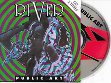 PUBLIC ART - River CD SINGLE 2TR Eurodance 1993 EU Cardsleeve (Zyx)