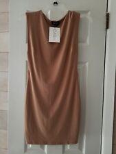 Womens DASH by Kardashian Side Boob Mini Dress NEW w/tags Mocha Size MEDIUM