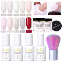 Born Pretty Nail Art Dip Dipping Powder System Liquid Top Base Coat No UV Kit