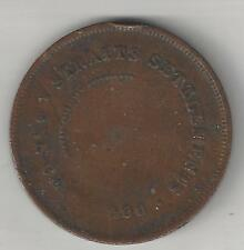 STRAITS SETTLEMENTS,  1900,  CENT,  BRONZE,  KM#16