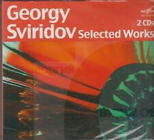 FEDOSEYEV MININ ROZHDESTVENSKY Georgy Sviridov Selected Works 2CD RUS NEW
