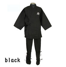 Japanese Ninja suit Uniform costume cotton 100% shinobi full set
