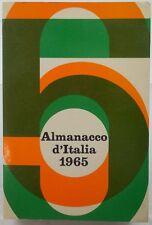 J 6340 VOLUME ALMANACCO D'ITALIA 1965
