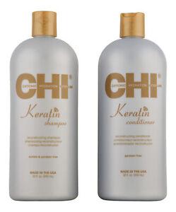 CHI Keratin Shampoo & Conditioner 32 oz. Hair Care Set