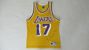 VINTAGE RICK FOX LOS ANGELES LAKERS JERSEY BY CHAMPION