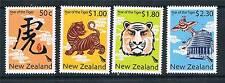 NUOVA Zelanda 2010 ANNO della TIGRE 4v SG 3187/90 Gomma integra, non linguellato