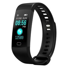 Activity Tracker Fitness Armband Pulsmesser Schrittzähler Uhr Blutdruck Sport