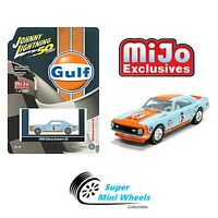 Johnny Lightning 50th 1968 Chevrolet Camaro SS GULF Racing 1:64