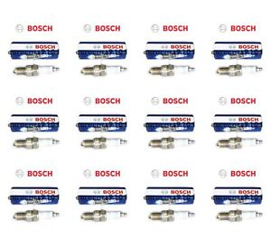 Set of 12 Land Rover Range Rover Bosch Spark Plugs 7911 7911