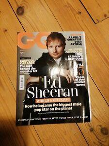 GQ Magazine British March 2017 Ed Sheeran NEW