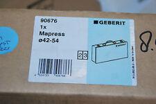 GEBERIT 90676 MAPRESS LEERKOFFER KOFFER FÜR PRESSBACKEN 42-54 METALLKOFFER NEU