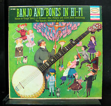 Mac Pollack And Allen Roth - Banjo And 'Bones In Hi-Fi LP VG LN 3360 USA Mono