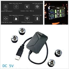 Wireless TPMS Tire Pressure Monitor System TP6 w/ 4 External Sensors for Car SUV