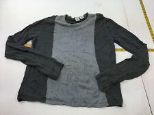 Men's Armani Exchange Sweater Gray Crewneck Long Sleeve Sz Large