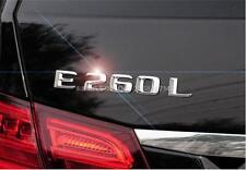 E685 E260L E260 neue Modern Emblem Badge auto aufkleber Schriftzug Car Sticker