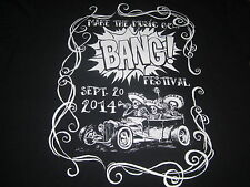 MAKE THE MUSIC GO BANG FESTIVAL SHIRT PUNK ROCK X BLASTERS AVENGERS LOS LOBOS