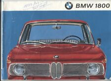 N°11318 / BMW 1800 berline catalogue en français septembre 1963