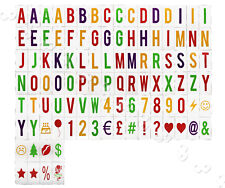 104X Colored Letters/Symbols/Emoticon DIY for Cinema Light Up Sign Cinematic Box