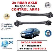 2x eje trasero izquierda y derecha brazos de control para SKODA SUPERIOR 3t4