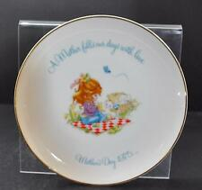 "Vintage Gigi Collectible Porcelain Plate Mother's Day Fills Love 1975 10 1/4"" G3"