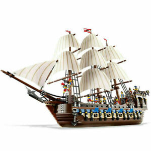 Custom Imperial Flagship Compatible with Lego 10210 NO BOX Pirates of Caribbean